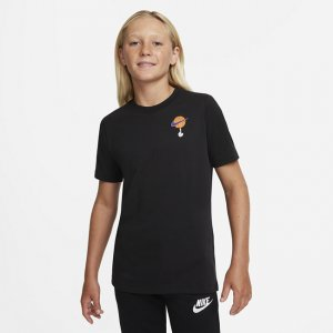 Футболка для тренинга школьников Dri-FIT x Space Jam: A New Legacy - Черный Nike