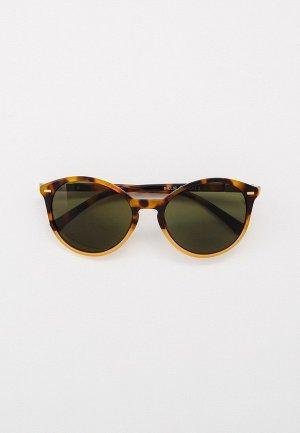 Очки солнцезащитные Eyelevel Billie. Цвет: коричневый