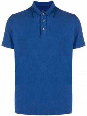 Рубашка поло с короткими рукавами Altea. Цвет: синий