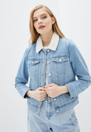 Куртка джинсовая Pimkie. Цвет: голубой