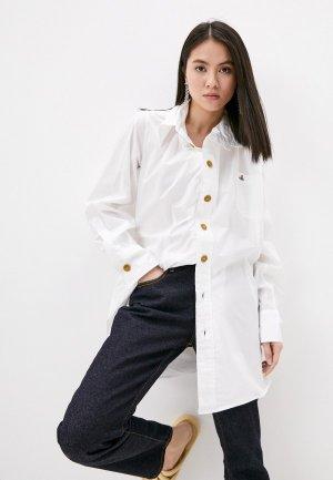 Рубашка Vivienne Westwood. Цвет: белый