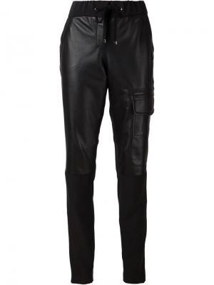 Panelled tapered trousers Kaufmanfranco. Цвет: чёрный