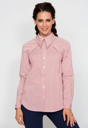 Рубашка D.VA MP002XW1GLOW. Цвет: красный