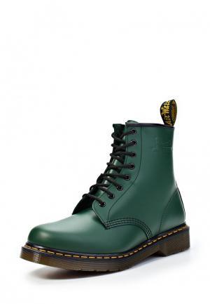 Ботинки Dr. Martens 1460. Цвет: зеленый