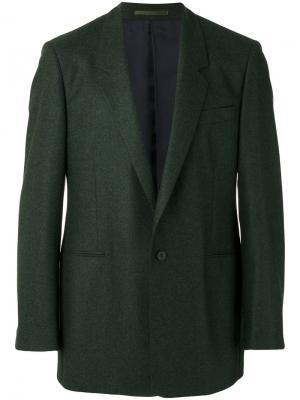 Пиджак мешковатого кроя E. Tautz. Цвет: зелёный