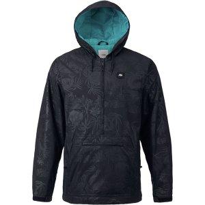 Куртка для сноуборда Caldwell Anorak Analog. Цвет: черный
