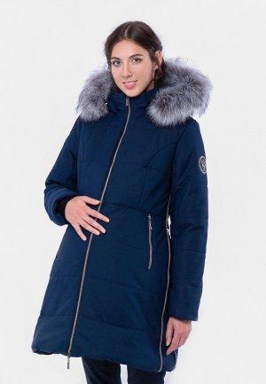 Куртка утепленная Талви. Цвет: синий