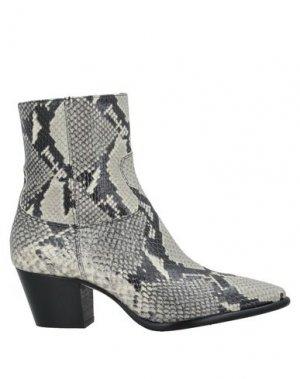 Полусапоги и высокие ботинки ANNA F.. Цвет: светло-серый