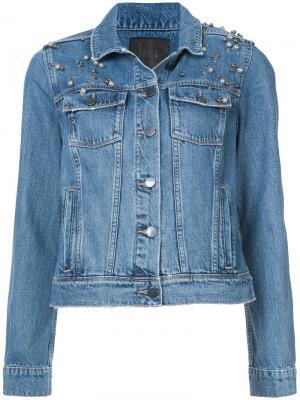 Куртка Rowan Paige. Цвет: синий