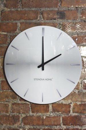Часы настенные STENOVA HOME. Цвет: серый