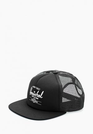 Бейсболка Herschel Supply Co Whaler Mesh. Цвет: черный