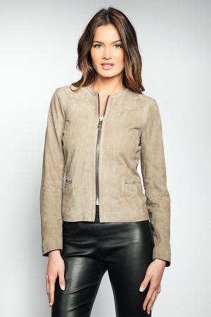 Куртка Giorgio. Цвет: beige
