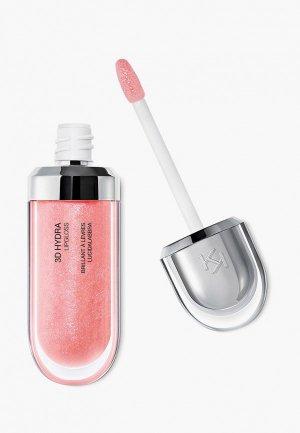Блеск для губ Kiko Milano смягчающий с трехмерным эффектом 3D HYDRA LIPGLOSS, оттенок 04, Pearly Peach Rose, 6.5 мл. Цвет: коралловый
