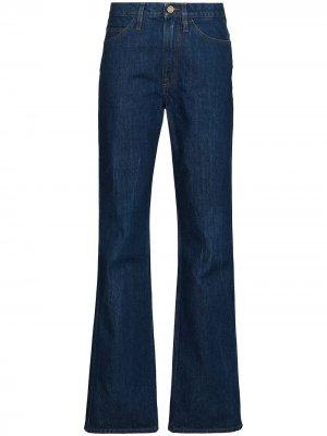 Расклешенные джинсы Le Italien FRAME. Цвет: синий