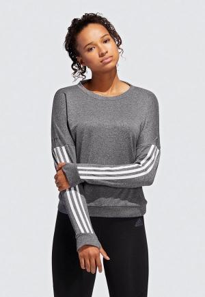 Лонгслив спортивный adidas RESPONSE CREW W. Цвет: серый
