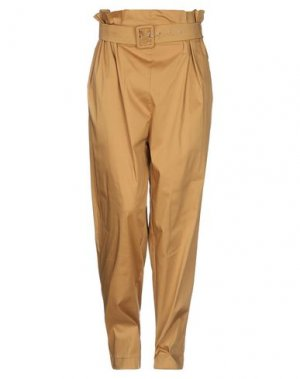 Повседневные брюки ANNARITA N TWENTY 4H. Цвет: верблюжий