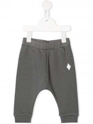 Спортивные брюки с логотипом Marcelo Burlon County Of Milan Kids. Цвет: серый