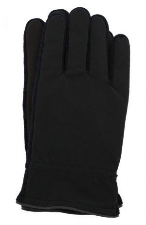 Перчатки Paul&Shark. Цвет: черный