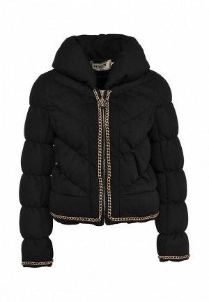 Куртка утепленная Met ME486EWLD365. Цвет: черный