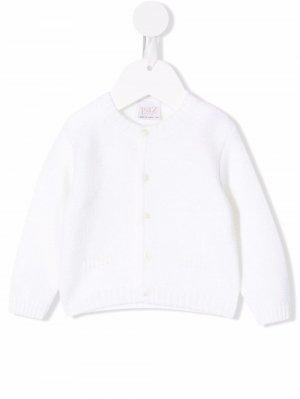 Button-down knit cardigan Paz Rodriguez. Цвет: нейтральные цвета