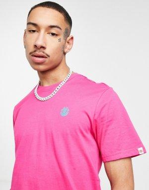 Розовая футболка Foxwood-Фиолетовый цвет Element