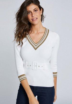Пуловер Morgan. Цвет: белый