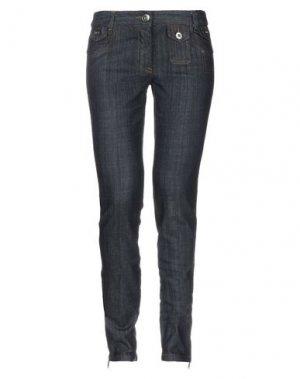 Джинсовые брюки GAETANO NAVARRA. Цвет: синий