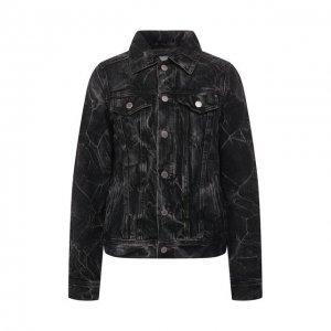 Джинсовая куртка Ag. Цвет: чёрный