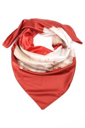 Платок F.FRANTELLI. Цвет: бордовый, розовый, бежевый