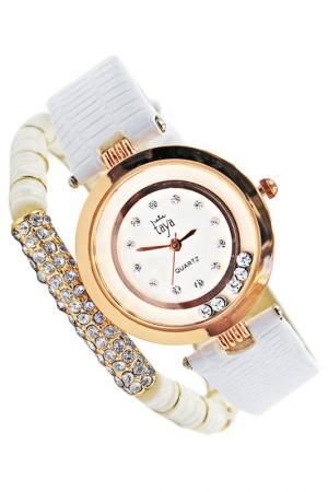 Часы наручные Taya. Цвет: золотистый, белый