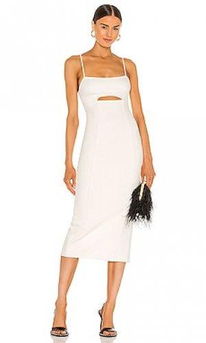 Платье enzo h:ours. Цвет: белый