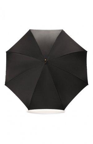 Зонт-трость Pasotti Ombrelli. Цвет: чёрный
