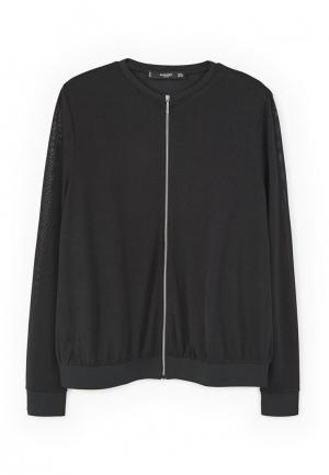 Куртка Mango - KENEDY. Цвет: черный