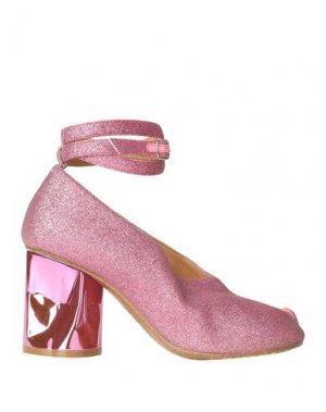 Туфли MAISON MARGIELA. Цвет: розовый