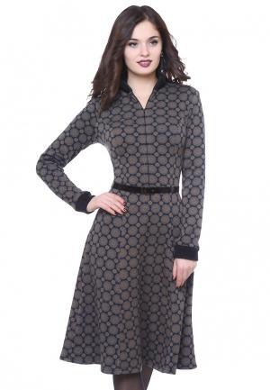 Платье Olivegrey ARKADA. Цвет: разноцветный