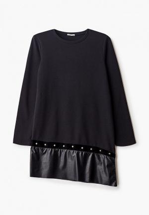 Платье Liu Jo Junior. Цвет: черный