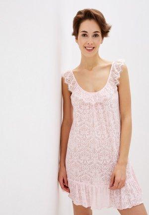 Сорочка ночная Balancelle. Цвет: розовый