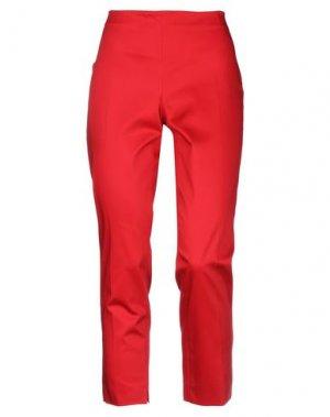Повседневные брюки CLIPS MORE. Цвет: красный
