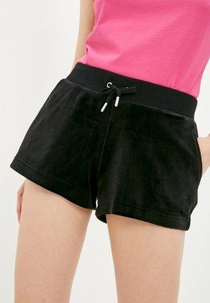 Шорты спортивные Juicy Couture. Цвет: черный