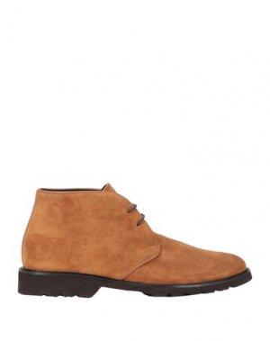 Полусапоги и высокие ботинки BRUNO MAGLI. Цвет: верблюжий