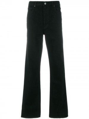 Расклешенные джинсы Calvin Klein 205W39nyc. Цвет: черный