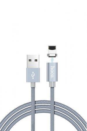 Кабель U40A Lightning 8-pin Hoco. Цвет: серый