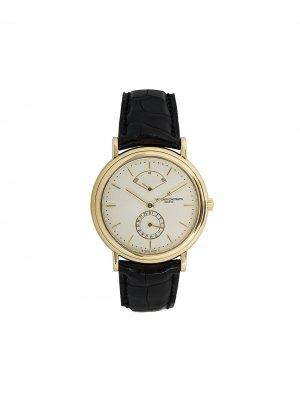 Наручные часы Les Historiques pre-owned 36 мм Vacheron Constantin. Цвет: золотистый