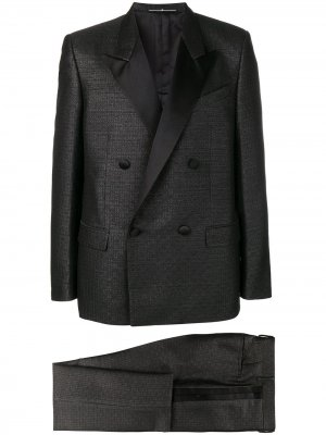 Классический костюм с двубортным пиджаком Givenchy. Цвет: черный