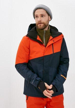 Куртка горнолыжная Brunotti. Цвет: синий