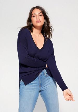 Пуловер Violeta by Mango - LISA. Цвет: синий