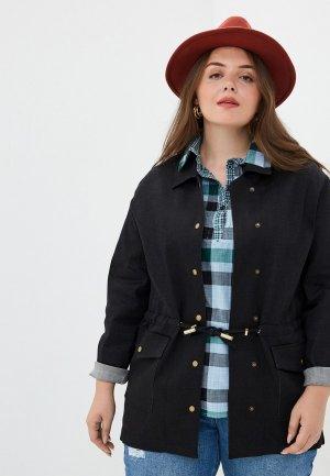 Куртка джинсовая Olsi 1917004. Цвет: черный