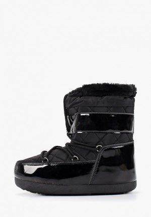 Луноходы Sweet Shoes. Цвет: черный