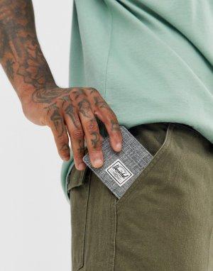 Визитница с принтом Charlie RFID-Серый Herschel Supply Co
