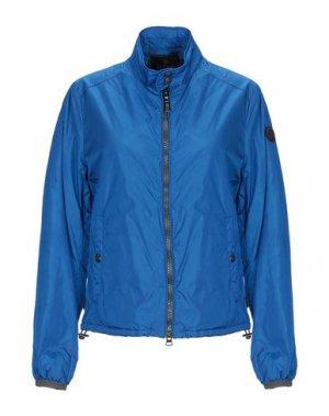 Куртка ADHOC. Цвет: ярко-синий
